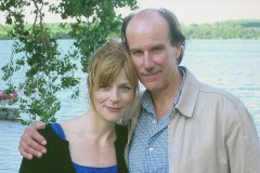 with husband Craig Carnelia